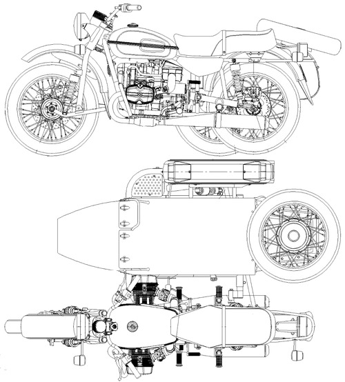 IMZ-Ural M70 Gear Up (2019)