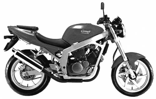 Kinetic Hyosung Comet 25o (2005)