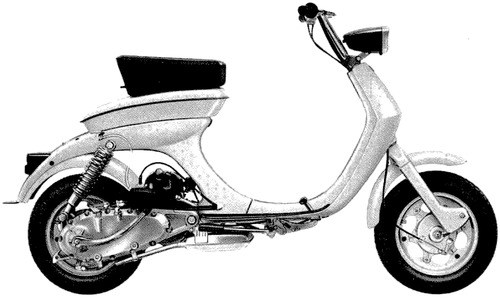 Lambretta 50C