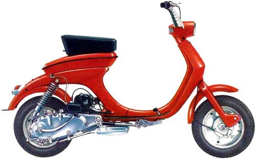Lambretta 50CL