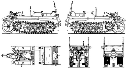 Sd.Kfz.2 Kleines Kettenkraftrad HK 101 S.I