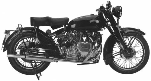 Vincent Rapide Series C (1952)