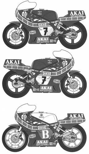 Akai Yamaha YZR500