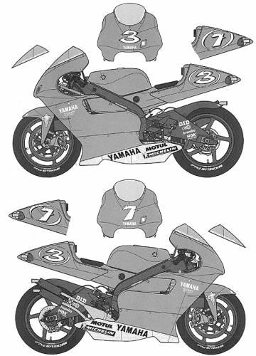 Factory Yamaha YZR500 (2001)