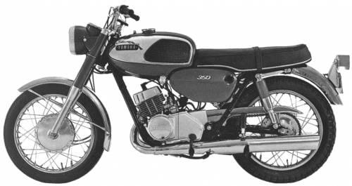Yamaha 350YR1 (1967)