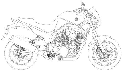 Yamaha BT 1100 (2002)