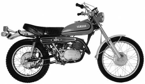 Yamaha DT2 250 (1974)
