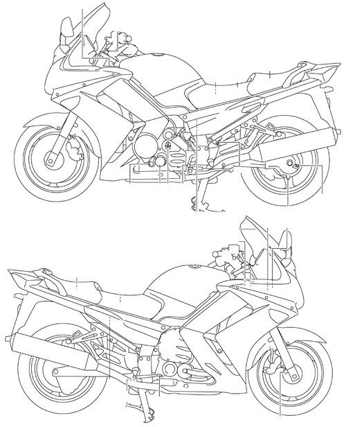 Yamaha FJR 1300A (2007)