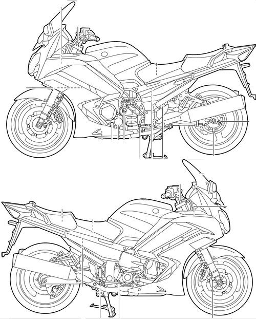 Yamaha FJR 1300A (2013)