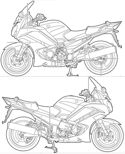 Yamaha FJR 1300AE (2013)