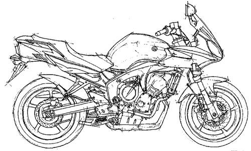 Yamaha FZ6B (2007)
