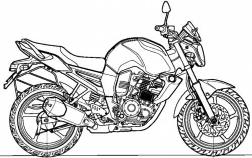 Yamaha FZ-S (2013)