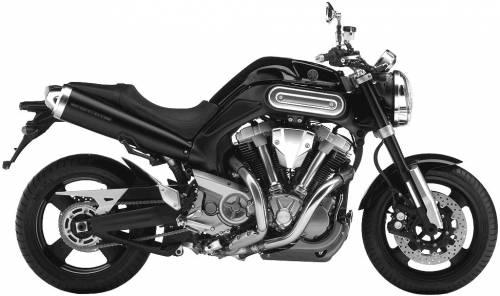 Yamaha MT 01 (2005)