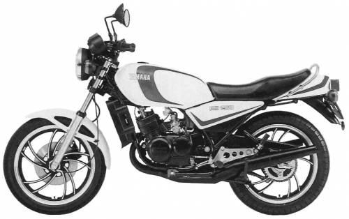 Yamaha RD250LC (1980)