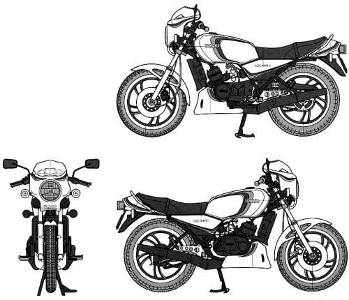 Yamaha RZ350