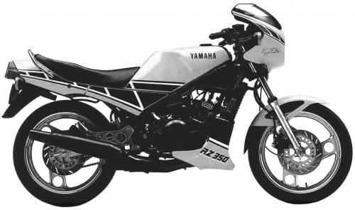 Yamaha RZ350 (1984)