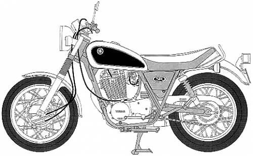 Yamaha SR400 (1996)