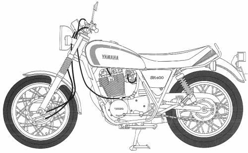 Yamaha SR400 (1998)