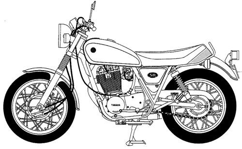 Yamaha SR400S