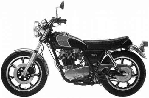 Yamaha SR500 (1978)