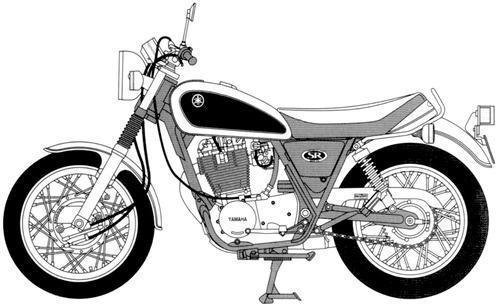 Yamaha SR500 (1996)