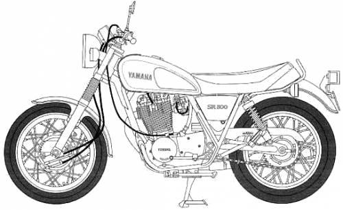 Yamaha SR500 (1998)