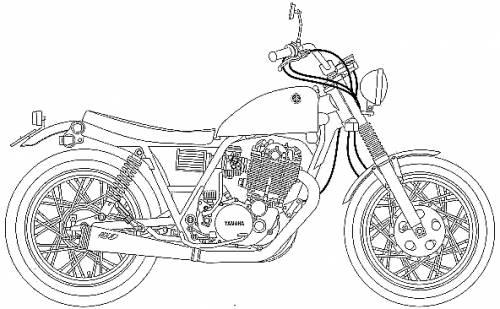 Yamaha SR Scrambler