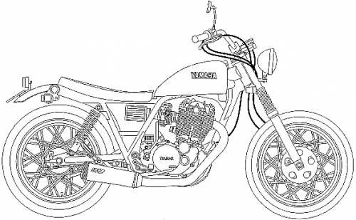 Yamaha SR Tracker (1996)