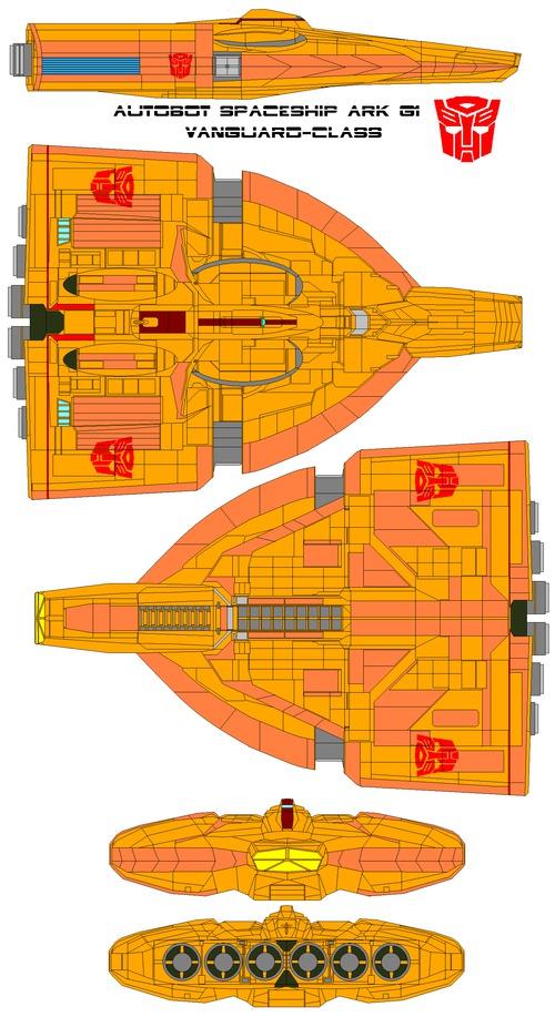 Autobot spaceship ARK G1