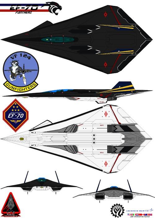 Lockheed EF-70 Panther Gunfighters VF-124