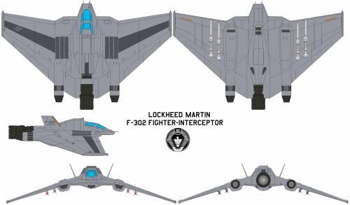 Lockheed Martin F-302 Fighter-Interceptor
