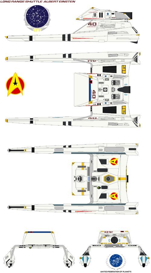 Long range shuttle Albert Einsten