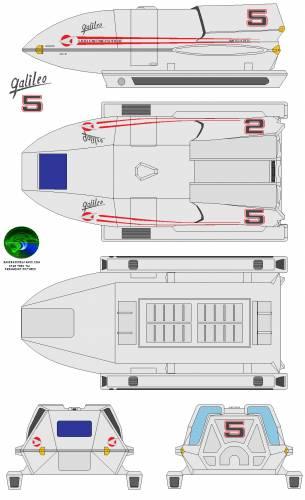 Shuttle galleo 5