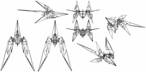 Star Fox Assault Airwing