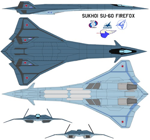 Sukhoi SU-60 firefox 2