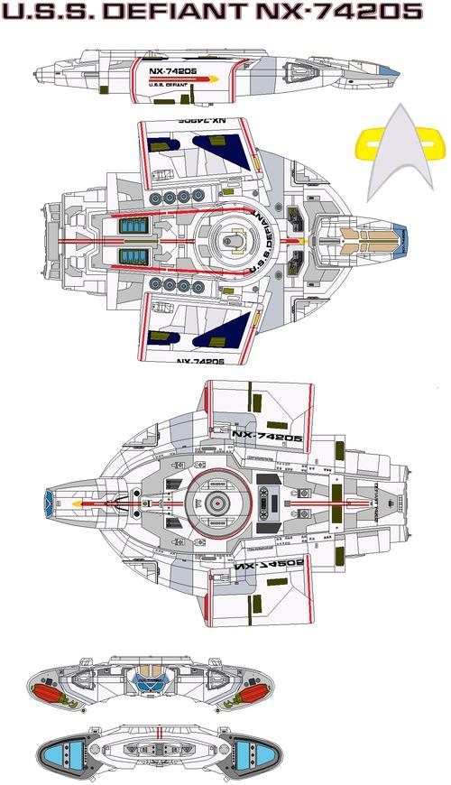 USS Defiant NX-74205