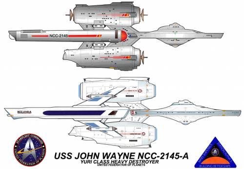 USS John Wayne NCC2145A