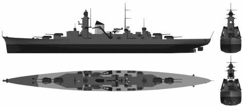 DKM Admiral Hipper (Heavy Cruiser) (1941)