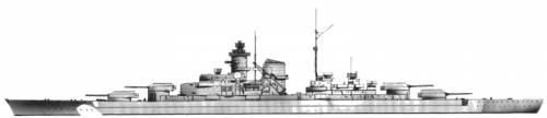 DKM Bismarck (Battleship) (1940)