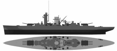 DKM Deutschland (Heavy Cruiser) (1929)