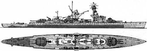 DKM Deutschland / Lutzow (1936)