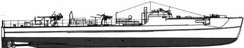 DKM E-Boat S-100 1