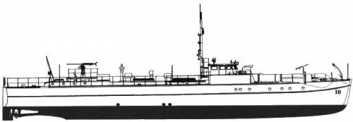 DKM E-Boat S-10 (1939)