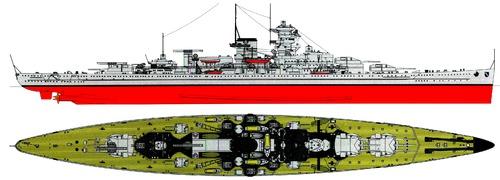DKM Scharnhorst 1938 [Battleship]