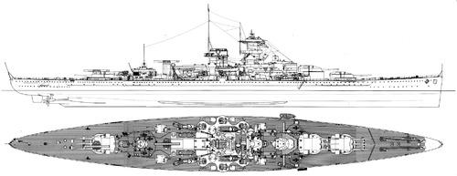 DKM Scharnhorst 1939 [Battleship]