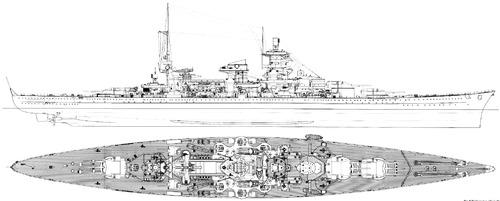 DKM Scharnhorst 1943 [Battleship]