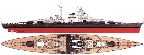 DKM Tirpitz 1944 (Battleship)