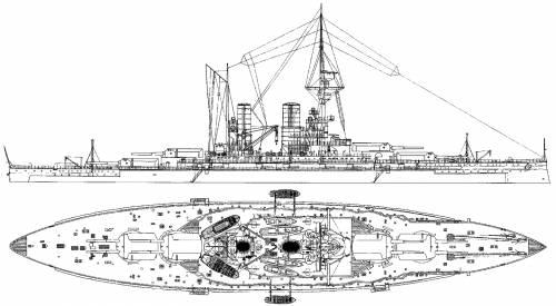 SMS Baden [Battleship] (1917)