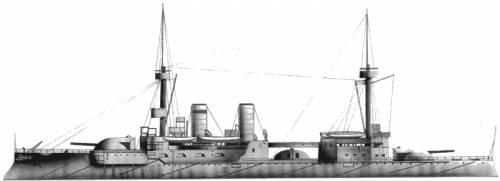 SMS Brandenburg (Battleship) (1907)