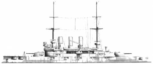 SMS Deutschland (Battleship) (1903)